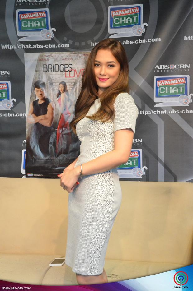 PHOTOS: Gorgeous Maja Salvador at the Kapamilya Chat